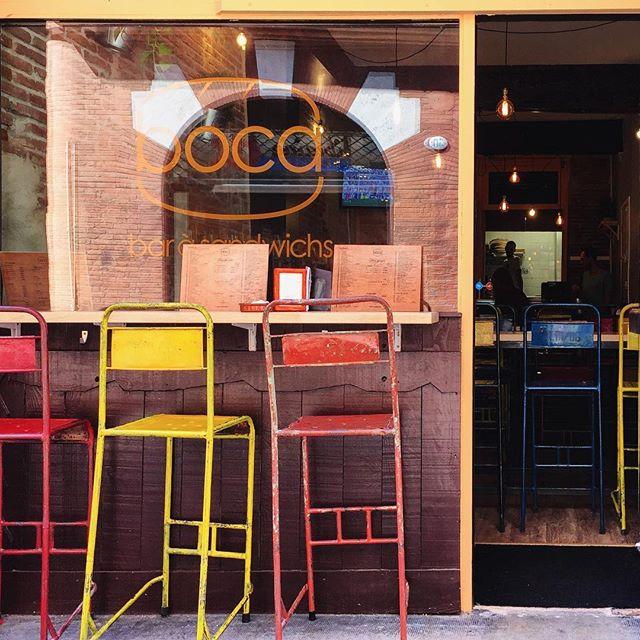 Boca est un restaurant à sandwichs version tapas